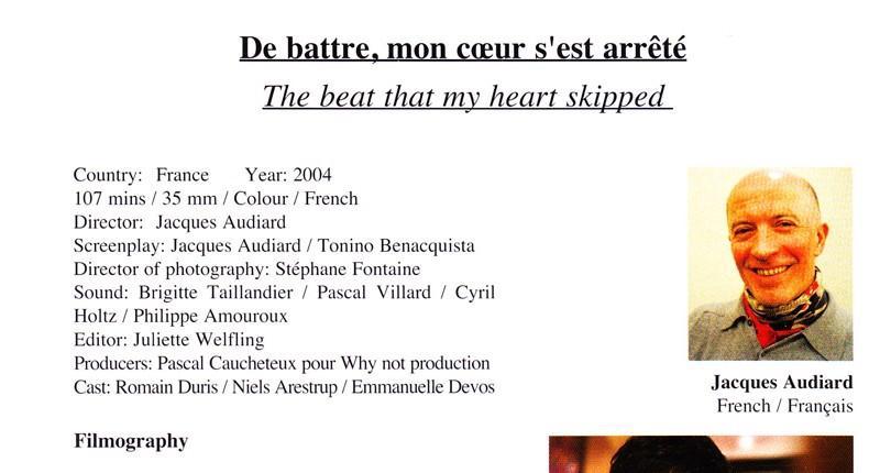 De Battre, Mon Coeur S'est Arrete