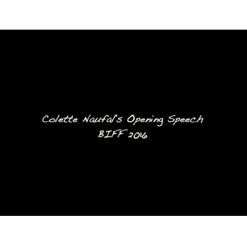 Colette Naufal Speech