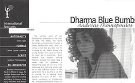 Dharma Blue Dumbs Thumb