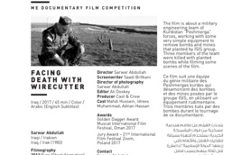 Facing Death With Wirecutter Thumb