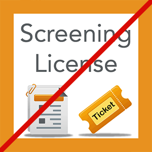 No Screening Permit