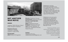 Not Another War Movie Thumb